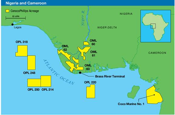 Conoco Nigerian Production and Exploration