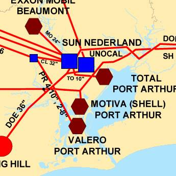 Port Artthur Map